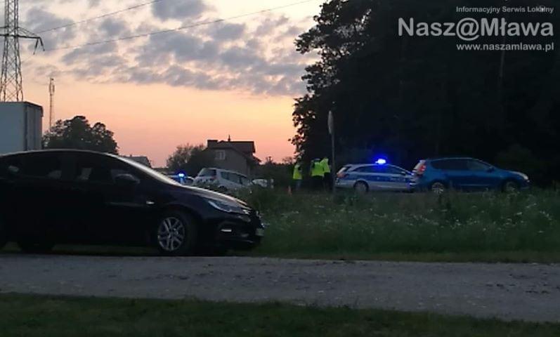 Wypadek śmiertelny z udziałem samochodu osobowego i motocykla