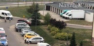 Garaże i miejsca postojowe na ulicy Zachodniej w Mławie