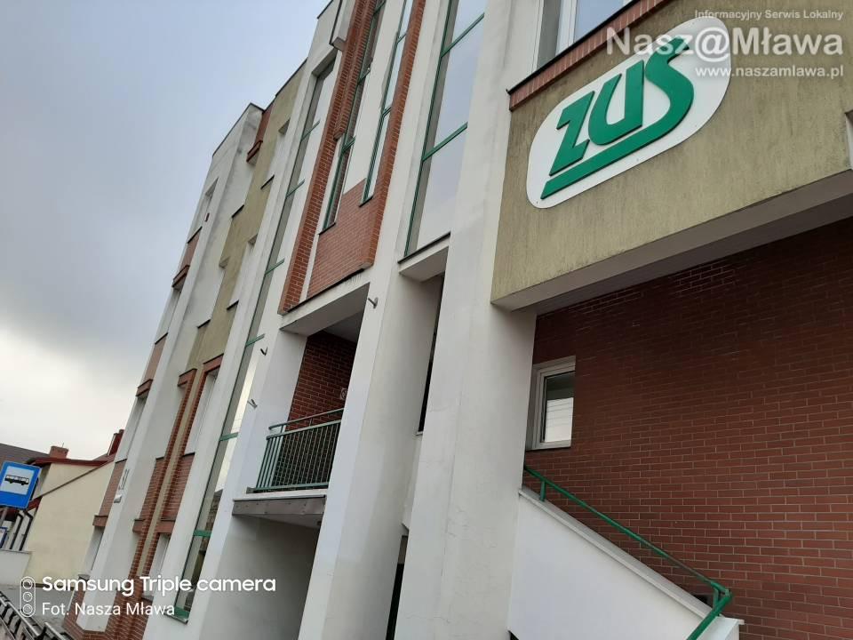 Budynek ZUS w Mławie