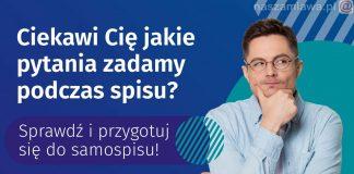 Plakat dotyczący spisu powszechnego
