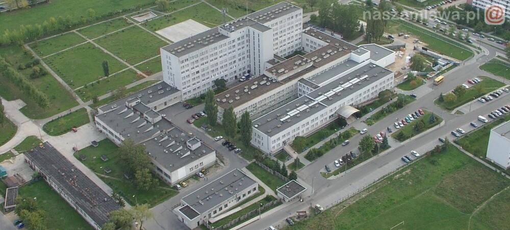 Budynek szpitala w Ciechanowie
