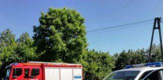 Wóz strażacki i policyjny
