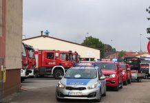 wozy policyjne i strażackie