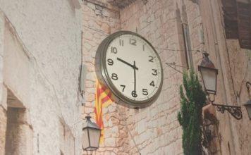 Zegar n ścianie