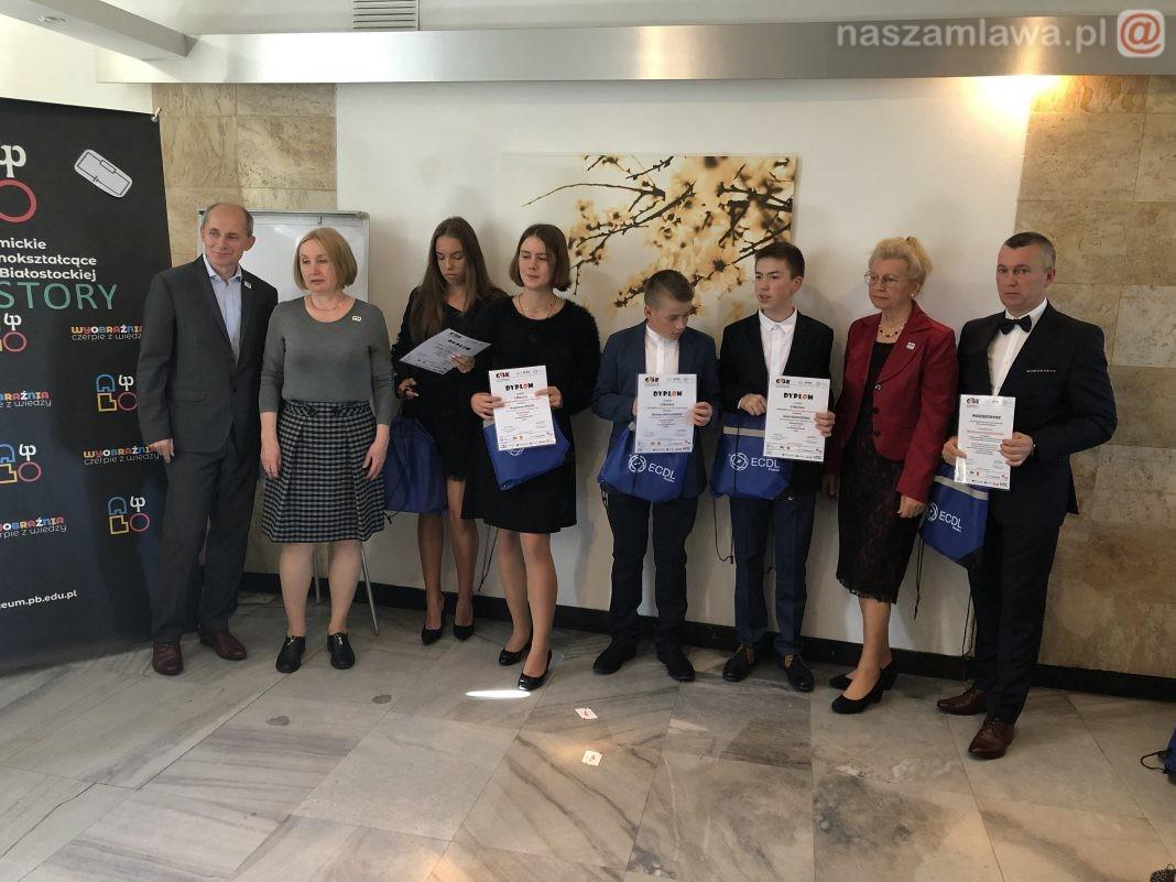 Laureaci konkursu na gali w Warszawie