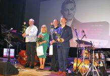 Grażyna Auguścik i Kuba Stankiewicz Trio na scenie w Mławie