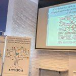Podczas uroczystej gali kliku stypendystów przedstawiło swoje zwycięskie projekty