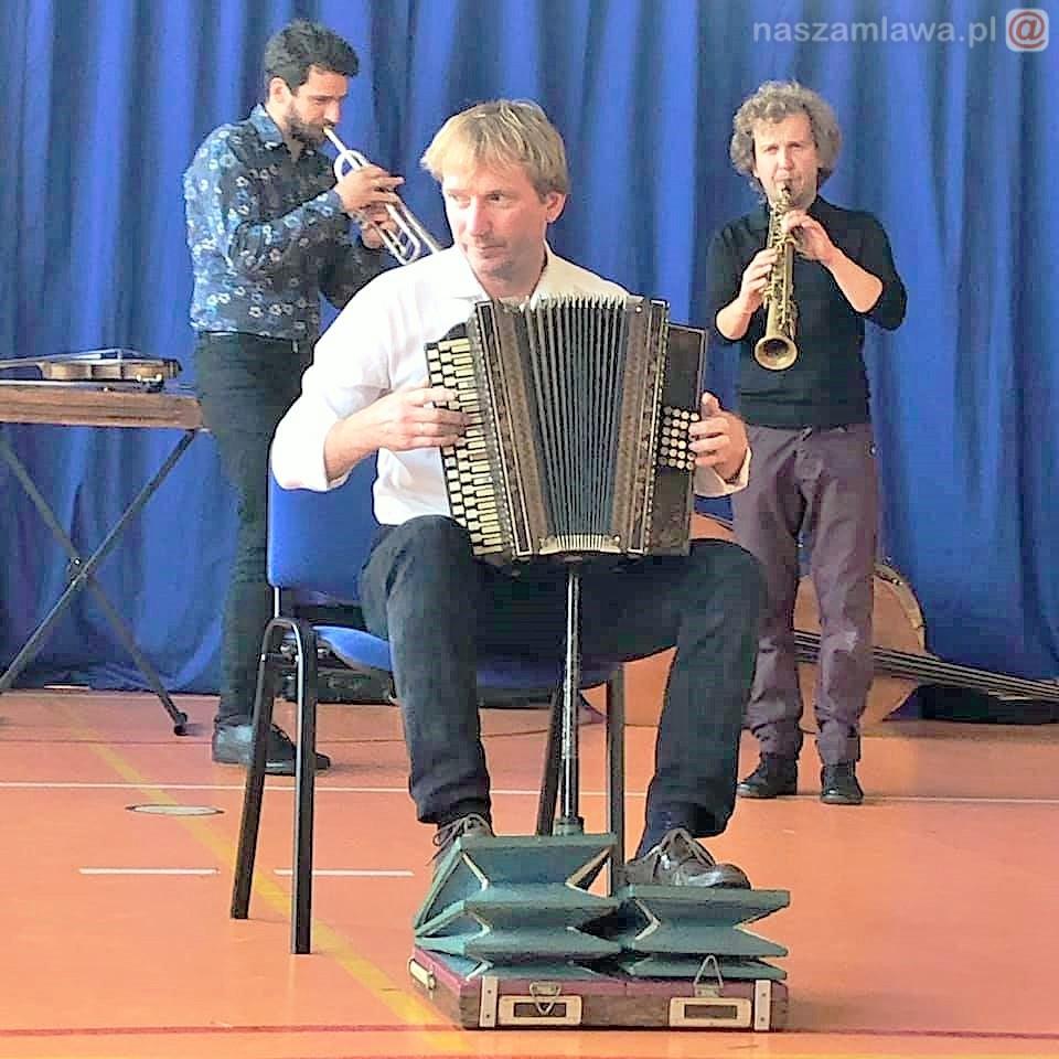 Janusz Prusinowski na scenie