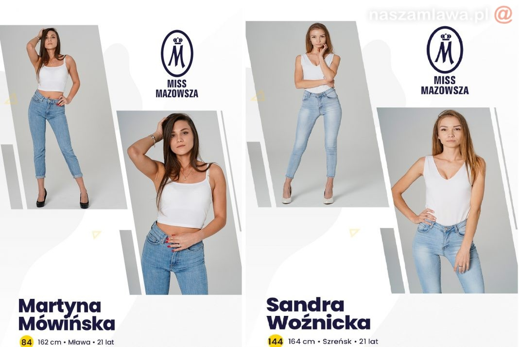 Kandydatki na Miss Mazowsza