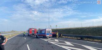 Miejsce tragicznego wypadku pod Olsztynkiem